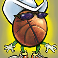 Basketball Cowboy by Kevin Middleton