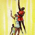 Basketball by Olga Kaczmar