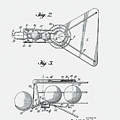 Basketball Practice Device Patent 1960 Part 2 by Claire Doherty