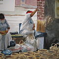 Basketweavers by Shirley Braithwaite Hunt