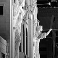Bass Hall Fort Worth 520 Bw by Rospotte Photography