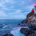 Bass Harbor Head Lighthouse by Carl Paulson