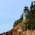 Bass Harbor Light House by Ronald Fleischer