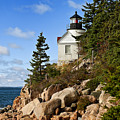 Bass Harbor Light by John Greim
