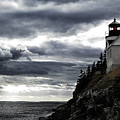 Bass Harbor Lighthouse In Acadia Np by Jeff Folger