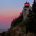Bass Harbor Lighthouse by Jeff Heimlich