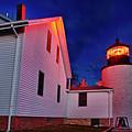 Bass Harbor Lighthouse Maine by John Greim