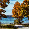 Bass Lake October by JGracey Stinson