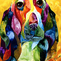 Basset Hound Blues by Sherry Shipley