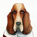 Basset Hound by Leanne Wilkes