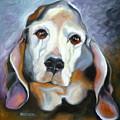 Basset Hound by Susan A Becker