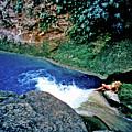 Bassin Blue - Jacmel Haiti by Johnny Sandaire