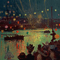 Bastille Day At Lorient by Henry Moret