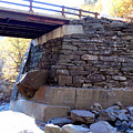 Bastion Falls Bridge 3 by Jeelan Clark