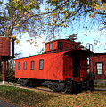 Batavia Depot Caboose by Ely Arsha