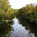 Batavia, Ohio Creek Vertical by Lorraine Baum