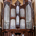 Bath Abbey Organ by Jenny Setchell