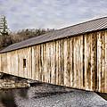 Bath Covered Bridge by Heather Applegate