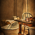 Bath Night At Fort Verde by Priscilla Burgers