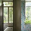 Bath Room Windows -urban Exploration by Dirk Ercken