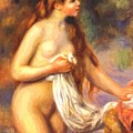 Bather 2 by Renoir PierreAuguste