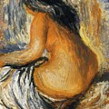 Bather From The Back by Renoir PierreAuguste