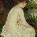 Bather by Pierre Auguste Renoir
