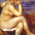 Bather With A Rock by Renoir PierreAuguste