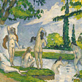 Bathers, 1874-1875 by Paul Cezanne