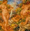 Bathers by Renoir PierreAuguste