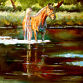 Bathing by Fedosenko Roman