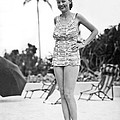 Bathing Suit Made Of Currency by Underwood Archives
