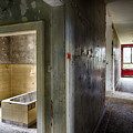 Bathroom In Deserted Building by Dirk Ercken
