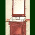 Bathroom Picture Wash Stand One by Eric Kempson