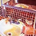 Bathroom Sink by Bob Dornberg