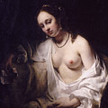 Bathsheba With David's Letter by Willem Drost