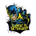 Batman Art by Hannah Dori