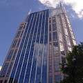 Batman Building In Down Town Nashville by Susanne Van Hulst
