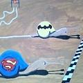 Batman Vs Superman Snail by Shawn Durham
