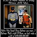 Batman Wets Himself by The GYPSY