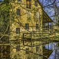 Batsto Gristmill Reflection by Nick Zelinsky