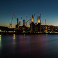 Battersea Power Station On The Thames, London by Nigel Forster