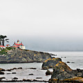 Battery Point Lighthouse California by Christine Till