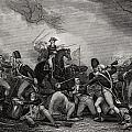 Battle At Princeton New Jersey Usa 1775 by Vintage Design Pics