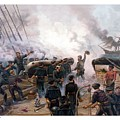 Battle Between Kearsarge And Alabama by War Is Hell Store