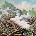 Battle Of Kenesaw Mountain Georgia 27th June 1864 by American School