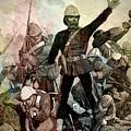 Battle Of Majuba Mountain  by Ian Gledhill