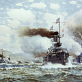 Battle Of Manila Bay 1898 by Granger