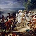 Battle Of Rocroy by Francois Joseph Heim