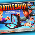 Battleship Board Game Painting  by Tony Rubino